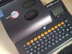 Image 3 - A máquina do número da linha s700e pode ser conectada a uma máquina da marcação da embalagem do computador calor shrinkable tubo impressora s650e atualizar
