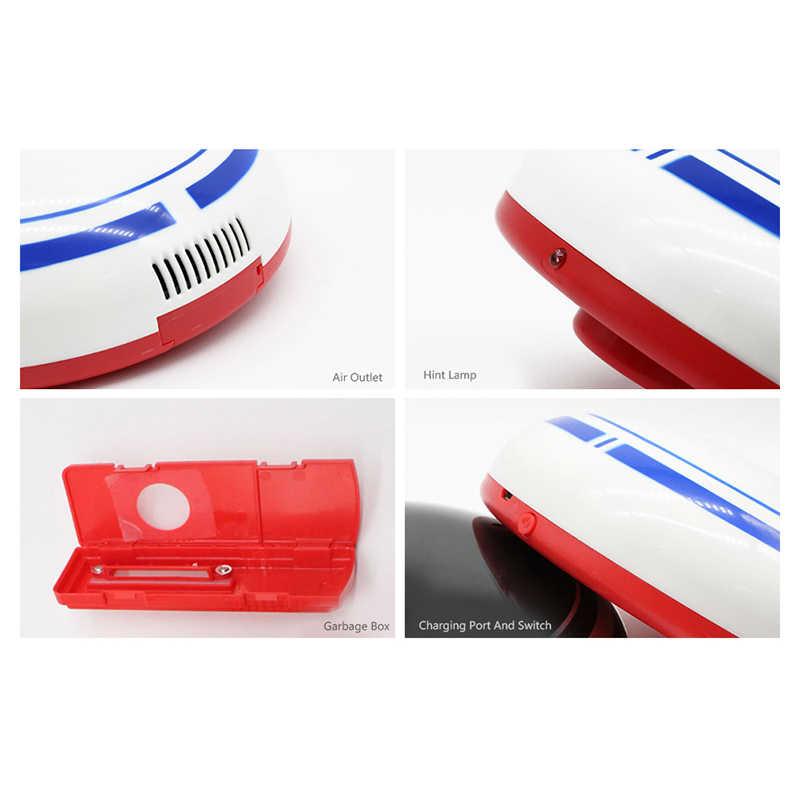 2 в 1 Перезаряжаемые половой робот улавливатель пыли интеллигентая (ый) Авто-индукции пол Чистящая кисть робот уборочная пылесос