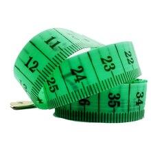 Швейная линейка метр швейная измерительная лента рулетка для измерения размеров тела швейная портновская рулетка Мягкая случайный цвет