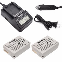 2x NB 10L NB10L NB 10L Digital Battery LCD 3X Faster Charger For Canon G1X G15