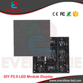 Free Shipping DIY 12PCS P2.5 Indoor SMD Full Color LED Module Display Screen