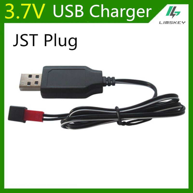 3.7V Lipo Battery Charging Units USB Battery Charger For H11D H11C Drone RC Toys JST Plug Lipo Battery Charger 3.7