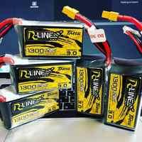 Tattu r-line wersja 3.0 V3 1300/1400/1550/1800/2000mAh 120C 4S 6S 4.2V bateria lipo XT60 wtyczka FPV Racing Drone zdalnie sterowany quadcopter