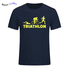 Summer New Arrival Triathlon Run Bicycling Swim Tee Shirt Fo