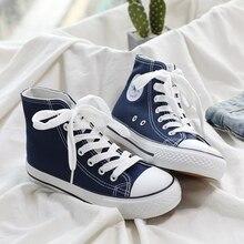 цена 2018 New Arrival  Canvas  Shoes man High-top Comfortable fashion кроссовки мужские обувь мужская онлайн в 2017 году