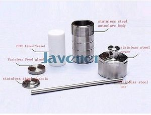 Image 4 - 200ml PTFE Lined Hydrothermal Synthesis Autoclave Reactor  Lined Vessel Inner Sleeve High Pressure Digestion Tank