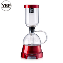 YRP Electric Coffee Syphon Pot Heat-Resistant Glass Touch Screen maker Siphon Brewer Drip Vacuum Filter