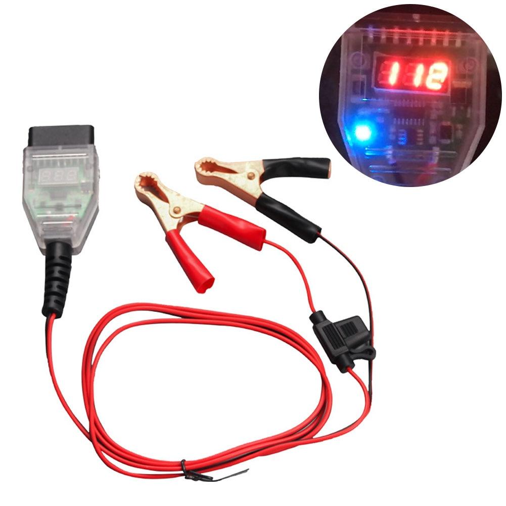 Car Testing Tool Battery Safe OBD Computer ECU Memory Saver Replace Tools Resume Hand Tool