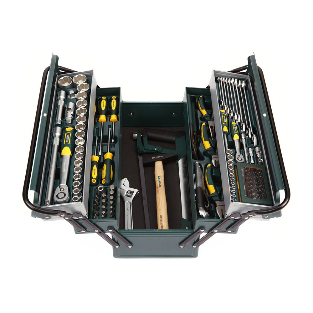 цена на Set of hand tools KRAFTOOL 27978-H131