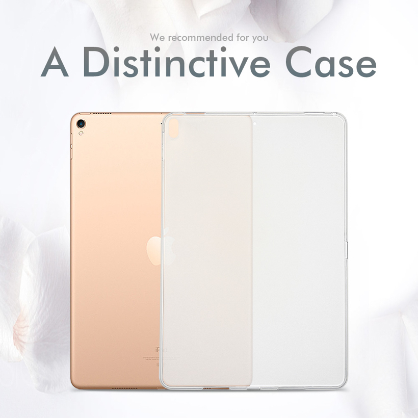 Soft Silicone TPU Cases For Samsung Galaxy Tab A 8.0 2018 T387 SM-T387V 8.0 Inch Ultra-Thin Transparent Waterproof Clear Covers