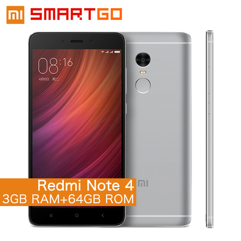 Original Xiaomi Redmi Note 4 Mobile Phone 3GB RAM 64GB ROM Helio X20 Deca Core CPU 5.5  helio x20 | Snapdragon 820 vs Helio x20 Speed test/Benchmark/Gaming (Adreno 530 vs Mali t880 GPU)Comparison Original Xiaomi Redmi Note 4 Mobile Phone 3GB RAM 64GB ROM font b Helio b font