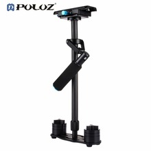 PULUZ P60T Carbon Fiber Handheld Stabilizer Shock Absorbers With Small Stanisan Shock Absorbers for SLR Mirrorless Video Camera