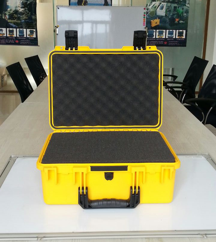 high quality Tool case box 462*334*170mm waterproof equipment case,Impact PP ALLOY tool case, tool box with Sponge Foam GL-2400 tool case gun suitcase box long toolkit equipment box shockproof equipment protection carrying case waterproof with pre cut foam