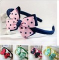 Retail 1 unids Chica de Moda rosa de la flor broche de pelo del bebé headwear niños adorno para el pelo hiarband-18