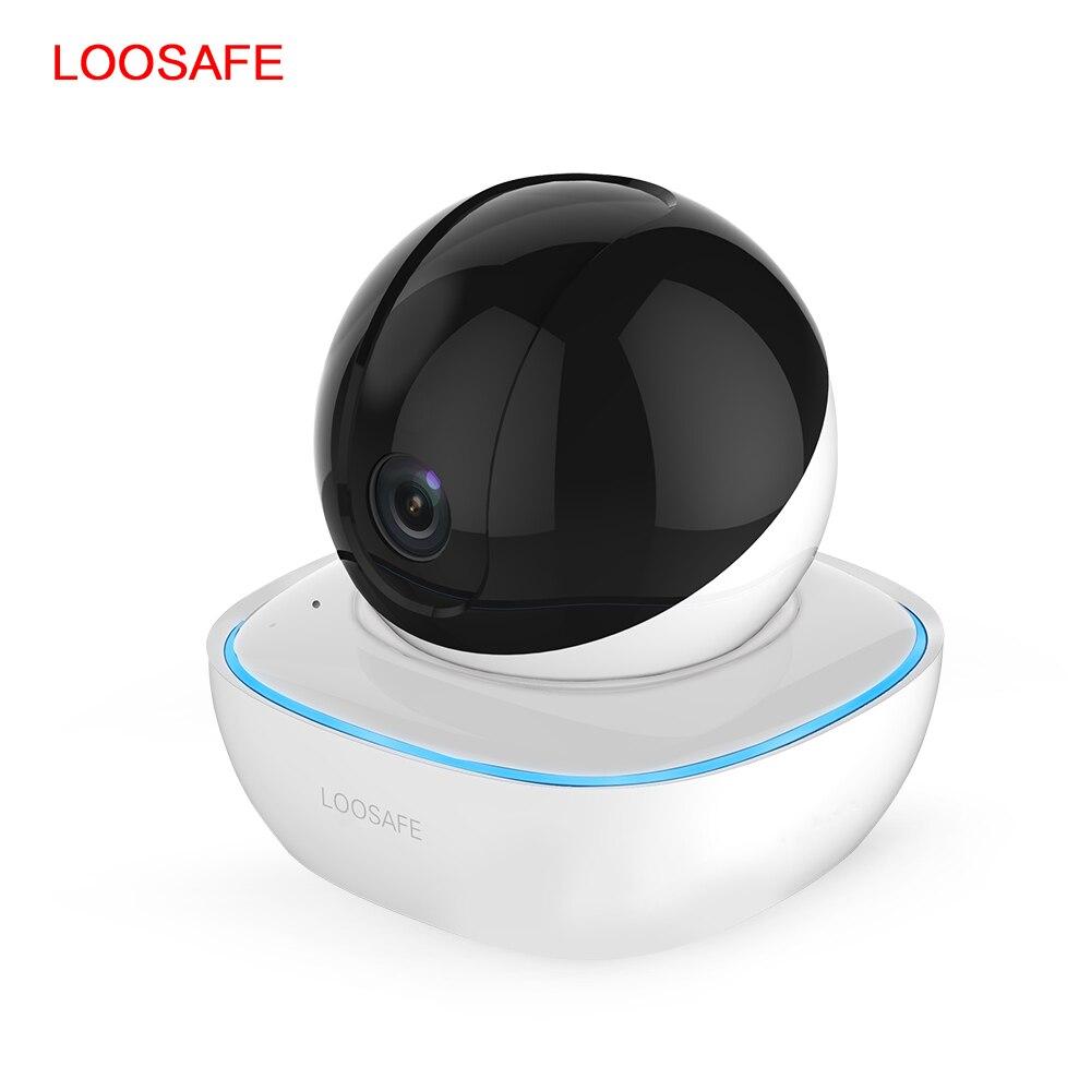 LOOSAFE HD 1080 P Wifi IP sécurité sans fil caméra de sécurité à domicile IP bébé moniteur alarme Vision nocturne P2P intelligent CCTV Mini caméra
