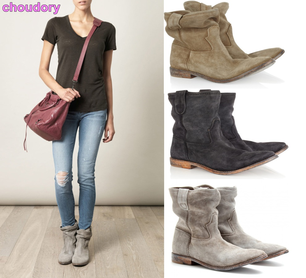 2017 Newest Designer Retro British Style Women Boots Fold Over Chic Gladiator Boots Nude Grey Suede Flat Casual Motorcycle Boots