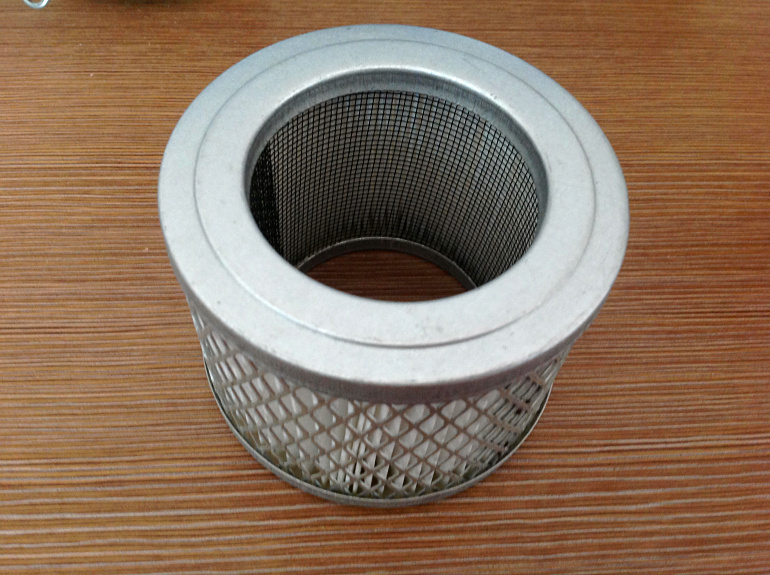 Vacuum pump filter element FE004 (interface for the internal thread 1-1/4 Outside diameter 98mm 60mm 70mm) vacuum pump inlet filters f007 7 rc3 out diameter of 340mm high is 360mm