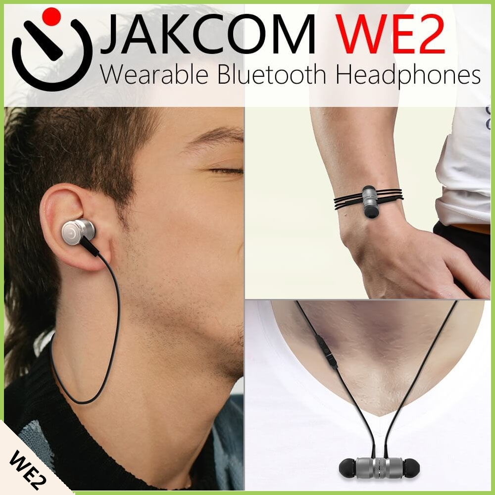 JAKCOM WE2 Smart Wearable Earphone Hot sale in HDD Players like korea tv box Media Player Full Hd Hd For 1000Gb