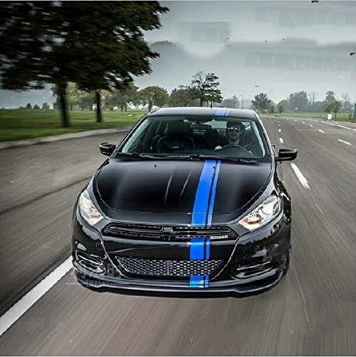 Car Styling 50 Quot Blue Vinyl Racing Stripe Decal Sticker For