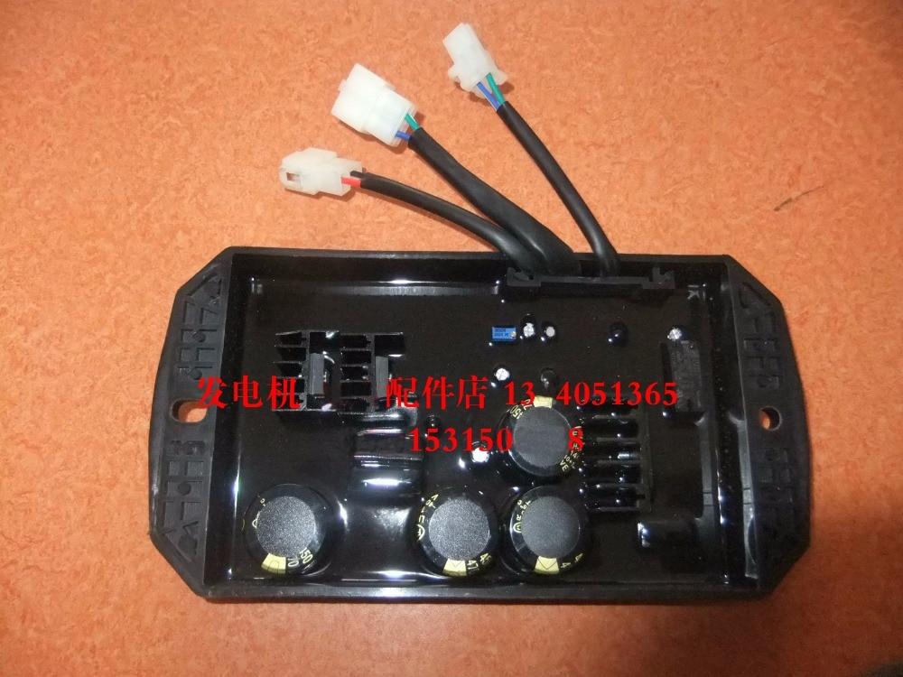 YMH Gasoline generator accessories EF14000E 10KVA AVR single-phase automatic voltage regulator цена и фото