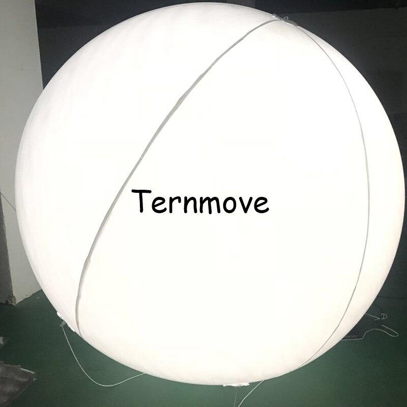 ПВХ надувное со светодиодной подсветкой Воздушный шар дистанционное управление Рождественский Декор мяч для концерта вечерние пляжные во
