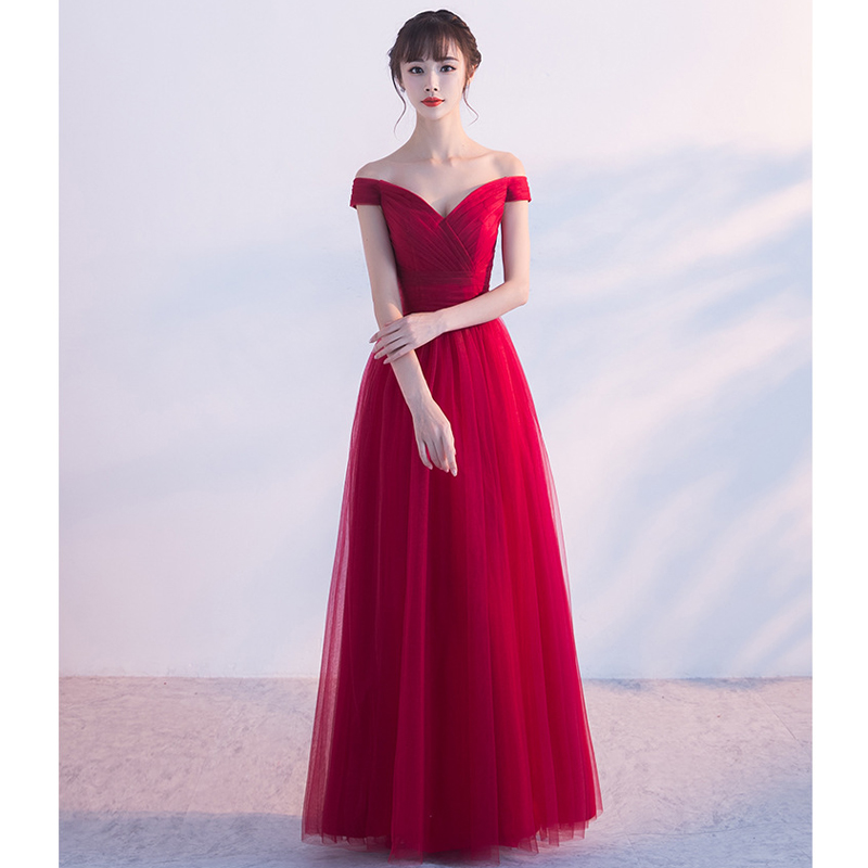 JaneyGao Prom Dresses Long For Women Elegant Tulle Formal Evening Party Gown 2019 New Stylish Fashion Design With Cap Sleeves
