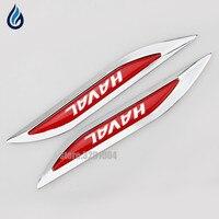 Automobile Fender Car Aluminum Sticker Emblem For HAVAL Logo M1 M2 M4 H1 H2 H3 H5