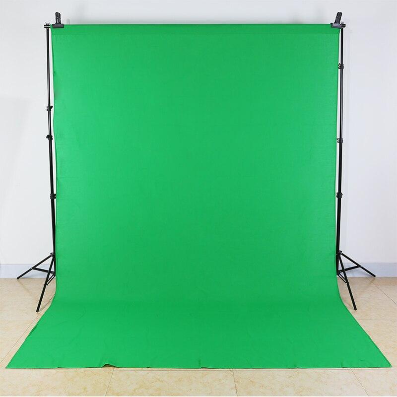Toile de fond photographique 300 cm * 400 cm photo studio épaissi non-réfléchissant non-tissé vert blanc noir toile de fond