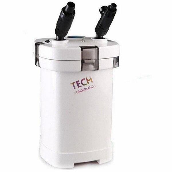 SUNSUN HW-505A HW-505B filtre à cartouche d'aquarium à 4 étages pour eau fraîche/salée avec lampe UV