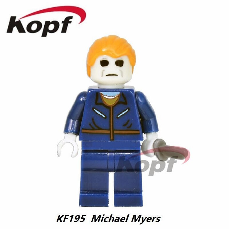 Single Sale Buffy the Vampire Slayer Series The Horror Theme Movie Michael Myers Carrie Hannibal Building Blocks Kids Toys KF195 the vampire hunters