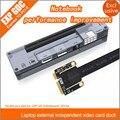 Новый PCIe PCI-E PCI Ноутбука Внешний Независимый Видеокарта Док Express Card Mini PCI-E Версия Для V8.0 EXP GDC