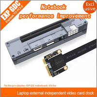 Marke Neue PCIe PCI-E PCI Laptop Unabhängige Externe Grafikkarte Dock Express Card Mini PCI-E Version Für V8.0 EXP GDC