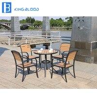 De boa Qualidade Em Casa Jardim Conjunto de Jantar Conjuntos de Mobiliário de Exterior