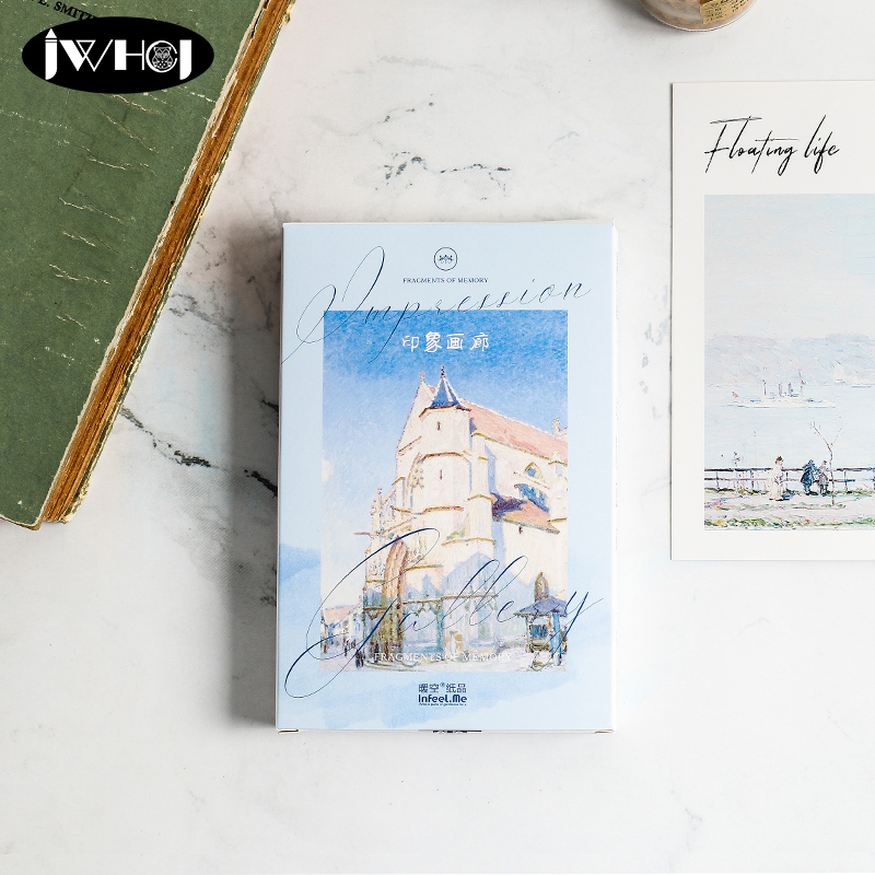 Purposeful 30 Pcs/lot Impression Gallery Landscape Postcard Scenery Greeting Card Christmas Card Birthday Card Message Gift Cards High Quality Goods Cards & Invitations Event & Party