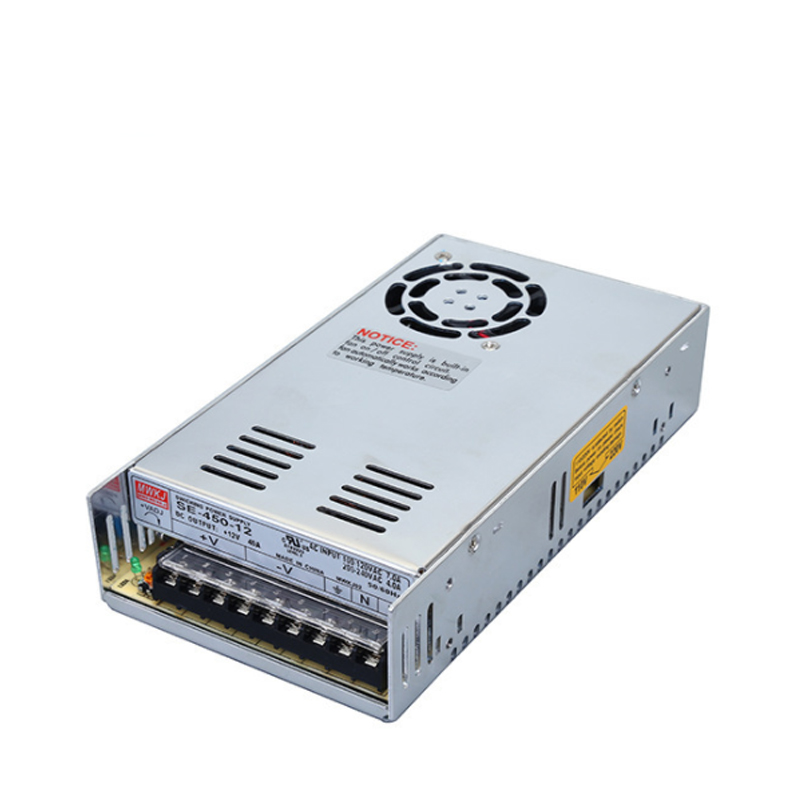 SE-450-12V high power DC switching power supply, integrated rainproof outdoor switching power supply lc 12 250w 20 8a rainproof switching power supply silvery grey 175 240v