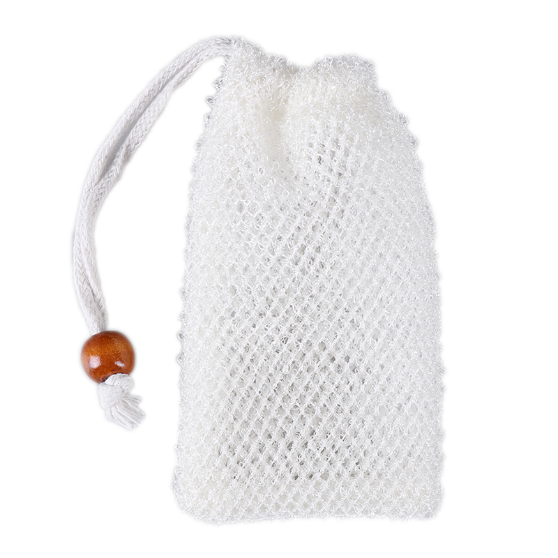 1PC Facial Body Cleansing Bubble Helper Mesh Cleanser Hanging Soap Foaming Net Soap Saver Pouches Bath Washing Tool