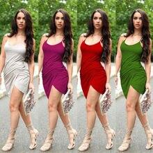 Neue Mode Frauen Sleeveless Verband Bodycon Sexy Party Cocktail MINI Kleid lässig einkaufstasche partei sommerkleider