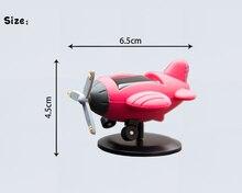 Car Ornament Mini PVC Aircraft Model
