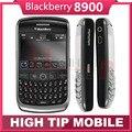 Abierto original blackberry 8900 teléfono wifi bluetooth 3.15mp del teléfono celular envío gratis reformado 1 año de garantía