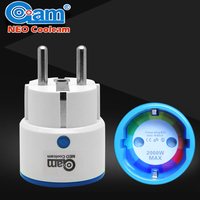 Home Automation Z Wave Plus Sensor Smart Home EU Power Plug Outlet Adapter Compatible With Z