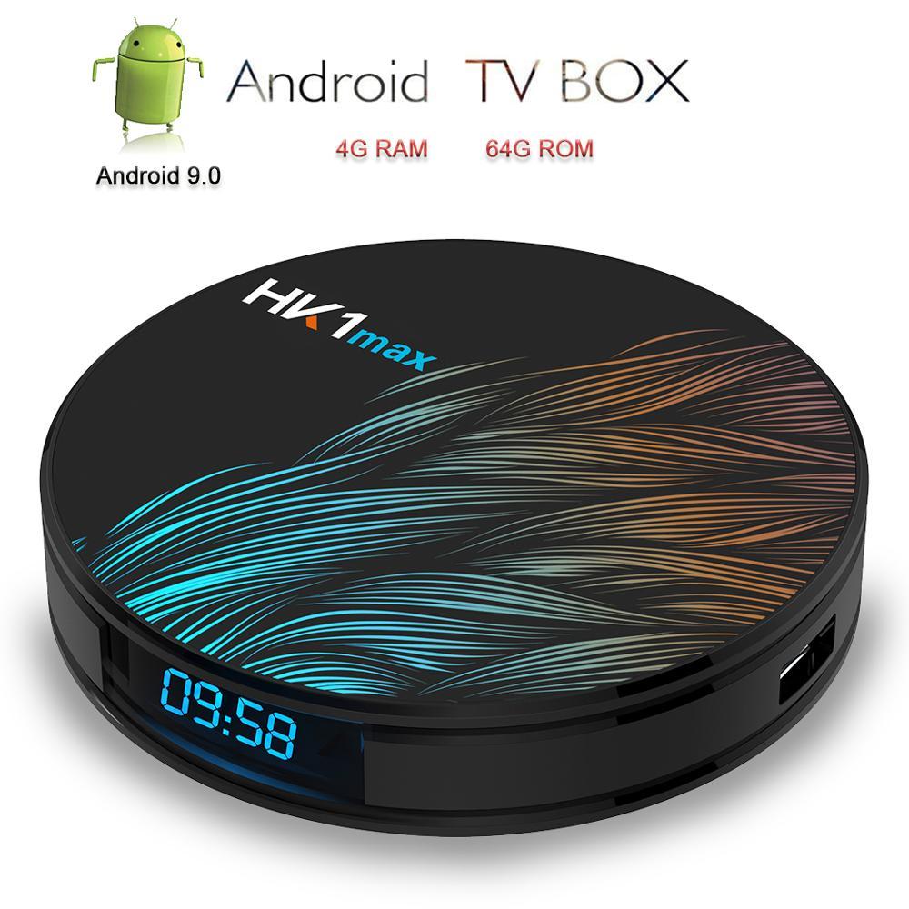 Satxtrem Android TV Box HK1 Max Smart TV 4K Android 9 0 RK3328 Quad Core Set