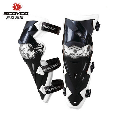 (2Pcs/Set) New Professional CE Approved Brand Scoyco K12 Motorcycle Knee Protector Motocross KneePads Free Size Fitting For All ...