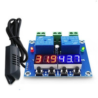 Temperature And Humidity Control Module Digital Display 20 60 Degrees Celsius 0 100 RH High Precision