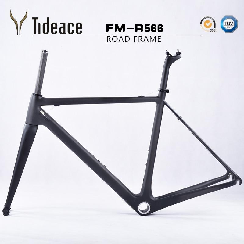 2018 Super light weight only 805g carbon road bike frame full carbon ...