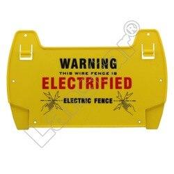 Lanstar 5 sztuk ogrodzenie elektryczne znaki ostrzegawcze  tablica ostrzegawcza|Czujnik i detektor|   -