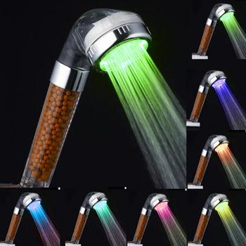 3 7 funkcja regulowany Jetting filtr prysznicowy oszczędne zużycie wody i wysokie ciśnienie głowica prysznicowa ręczna oszczędzająca wodę słuchawka do prysznica tanie i dobre opinie Z tworzywa sztucznego Ręcznie Trzymaj Pojedyncze głowy WJ66867 ROUND Naprawiono obrotowy typu Chrome Oszczędzania wody głowice prysznicowe