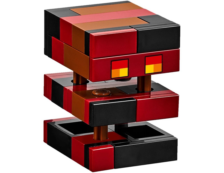 10620 The Nether Railway Compatible With  Minecrafted Block Set Creative Building Toy 399Pcs