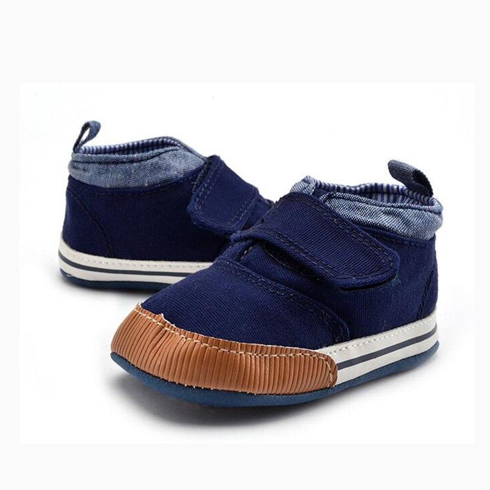 801e5021f44c3 Printemps Automne Enfants intérieur bébé chaussures premiers marcheurs  souple semelle anti-glissement bébé chaussures 2 couleurs coton matériel  FW-023