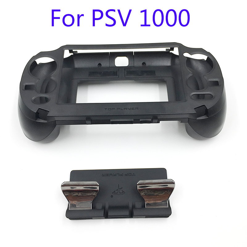 L3 R3 Matte Hand Grip Handle Joypad Stand Case with L2 R2 Trigger Button For PSV1000