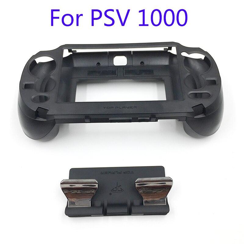 L3 R3 Opaca Hand Grip Handle Joypad Caso Del Basamento con L2 R2 Trigger Button Per PSV1000 PSV 1000 PZ VITA 1000 Gioco Console
